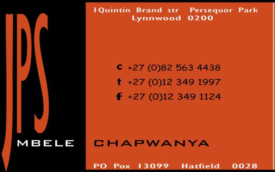 JPS Business Card